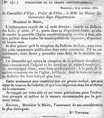 Charte constitutionnelle