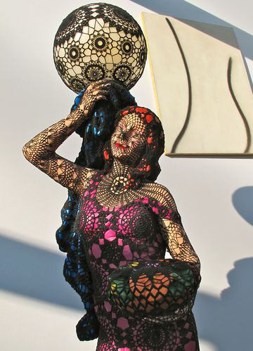 Art Paris Joanna Vasconcelos Suzette sculpture 2180