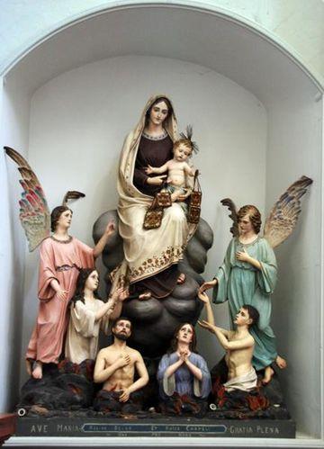 596b5 Ragusa, chiesa Anime Sante del Purgatorio