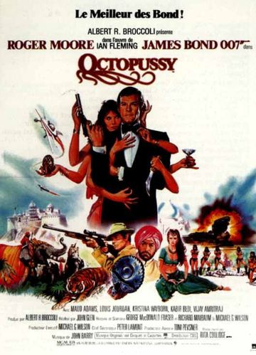 octopussy affiche