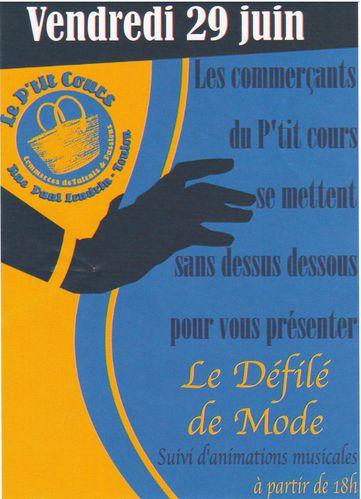 Fête du Petit Cours 2012
