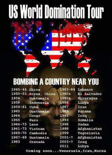 US Bombardements