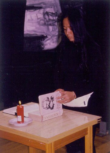 Arahmaiani Burning Body 1998