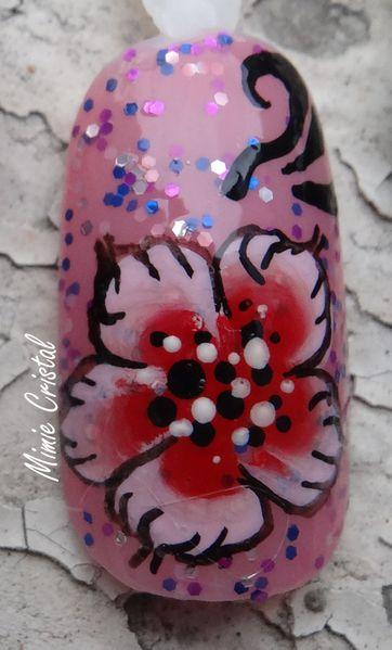 defi octobre fleur cerisier