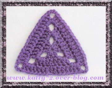 Crochet Triangle : How To Crochet A Triangle - All For Crochet