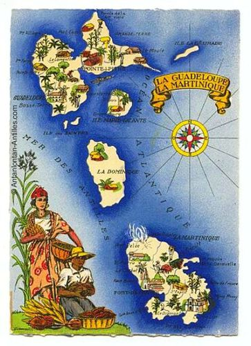 martinique-carte-illustree-guadeloupe-martinique