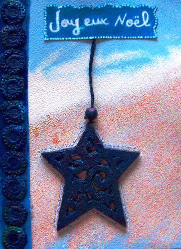 Etoile de noel bleue creation Fathia Nasr (07)
