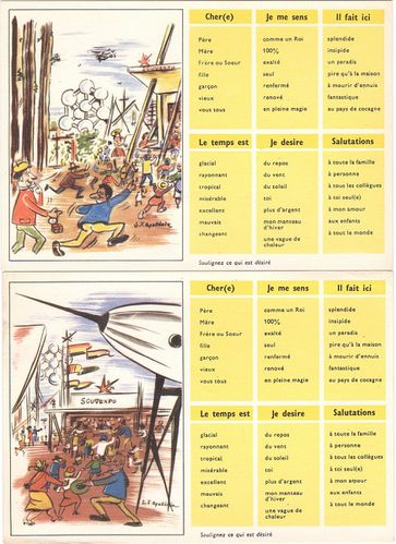 expo 58 cartes 2