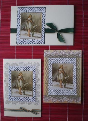 3 cartes perce neige