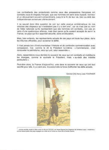 Henry -Jean Fournier 2 Unis derrière le drapeau