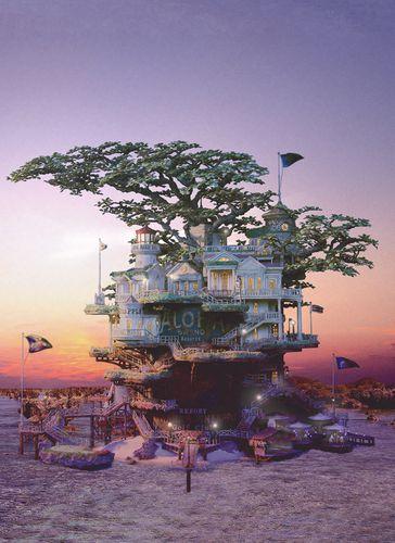 Hawaiian-Pineapple-Resort-with-Sunset.jpg