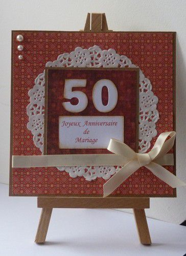noces d 39 or 50 ans anniversaire de mariage la scraperie de perlette. Black Bedroom Furniture Sets. Home Design Ideas