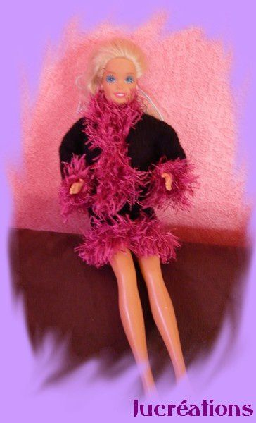 Barbie noir et fushia2