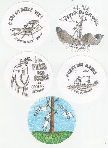 badges rancs
