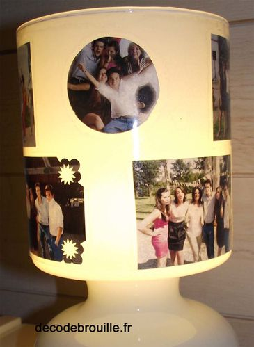 personnaliser une lampe d cod brouille. Black Bedroom Furniture Sets. Home Design Ideas