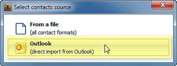 iphone contacts direct import from outlook