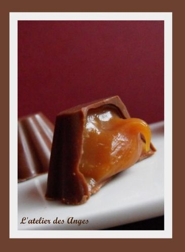 Chocolat lait caramel fondant 3