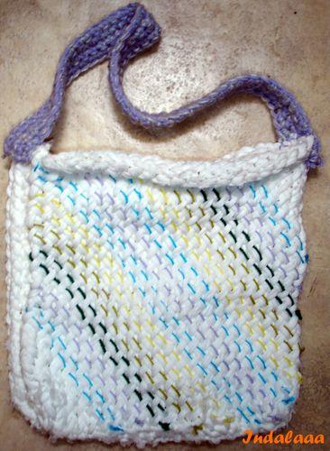 Tricoter sans aiguilles le blog de indalaaa - Tricoter sans aiguilles ...