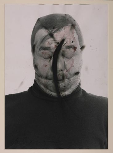 Rainer Arnulf Untitled (Face Farce 70-71