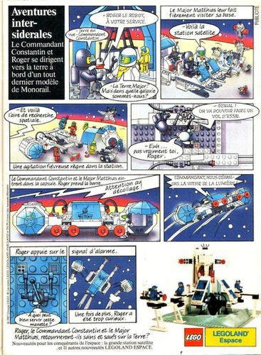 Pub Lego 1987 (journal de Mickey n-¦ 1843 - octobre 1987)