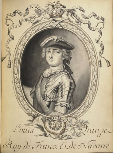 Larmessin, Louis XV