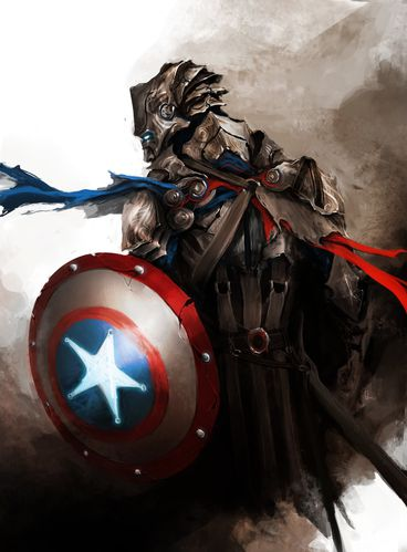 the avengers captain america by thedurrrrian-d53ch2c