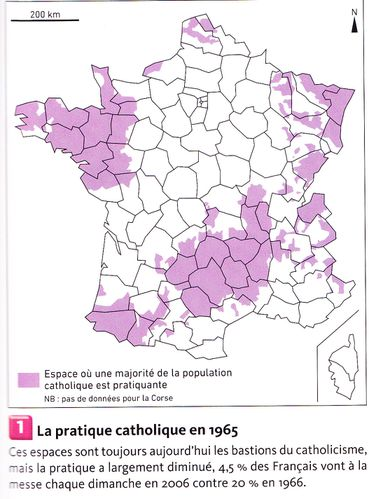 Pratique religieuse en France en 2006