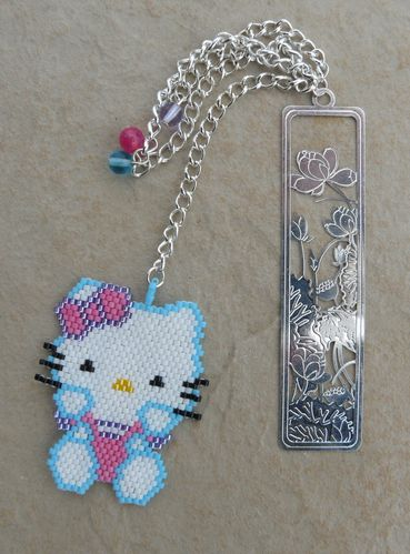 marque page hello kitty