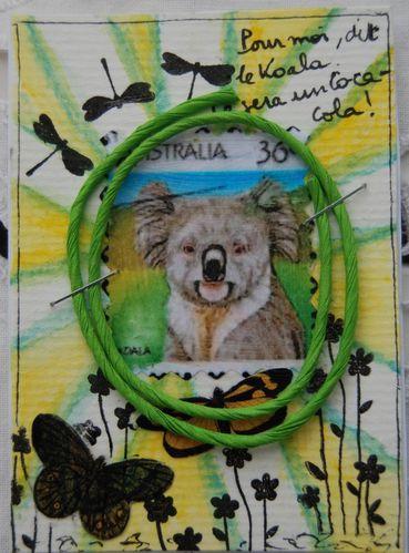 ATC juin 2012 alphabet lettre K Du Coca-Cola pour le koala