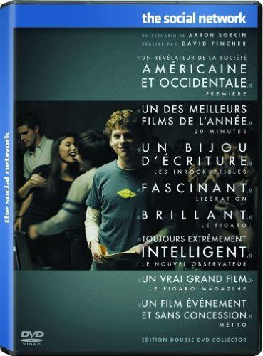 The Social Network Edition Collector 2 DVD