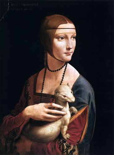 Leonardo da Vinci - Portrait of Cecilia Gallerani 01