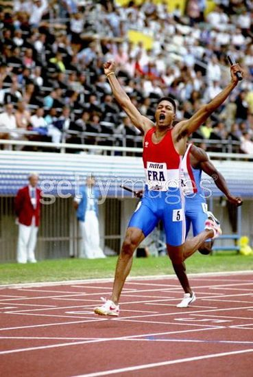 bruno marie-rose relais 4x100m record du monde 1991