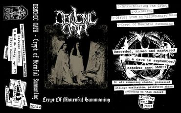 Demonic Oath - Front Cover