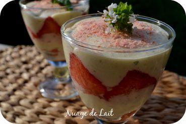 tiramisu fraises basilic amaretto 2