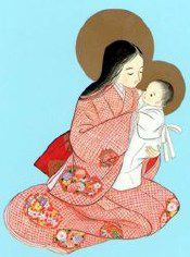 japanese mary and jesus
