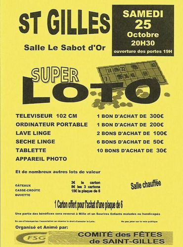 loto st gilles