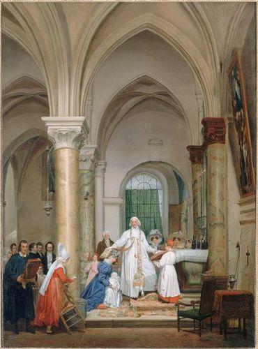lemasle messe de relevailles de la duchesse de berry 1828 s