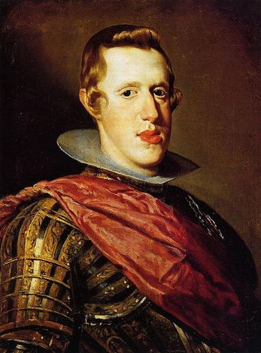 443px-Retrato de Felipe IV en armadura, by Diego Velzquez