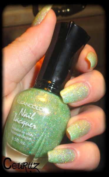 holo green swatch24