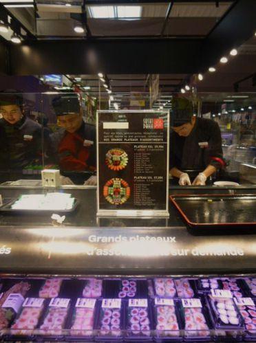 Sushi Daily, Carrefour, Rouen