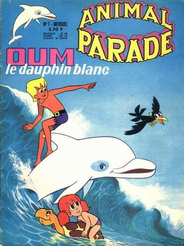 oum le dauphin -animal parade