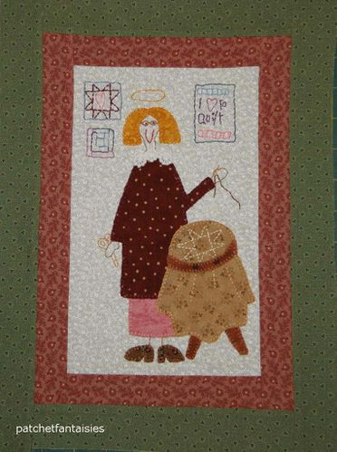 An-Angels-Story _quilt_broderie_patch et fantaisies_