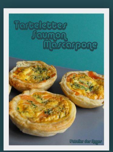 Tartelette Saumon Mascarpone 1