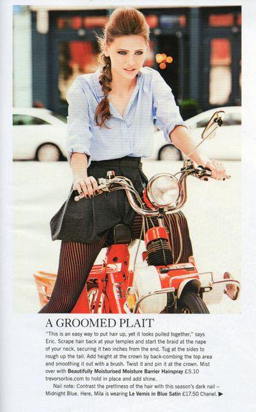 Glamour UK magazine, Nov. 2011