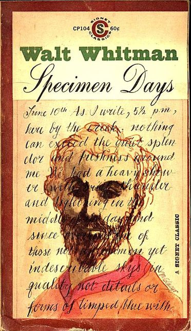 Walt Whitman. Specimen Days-copie-1