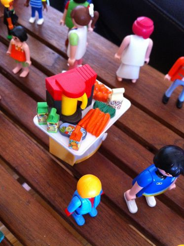 manger playmobil