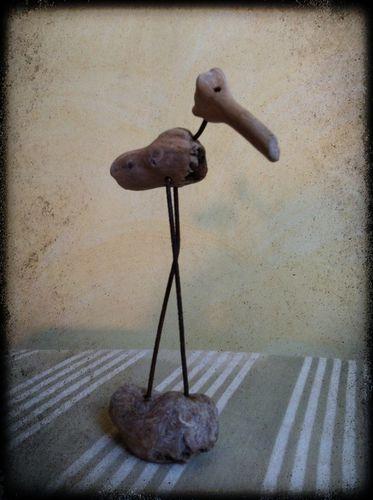 statuette, bois flotté, sculpture, statuette bois-copie-7