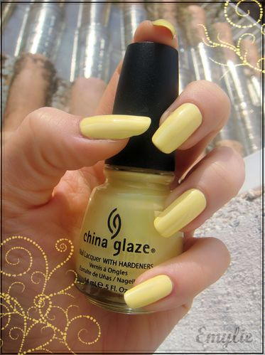 china glaze lemonade