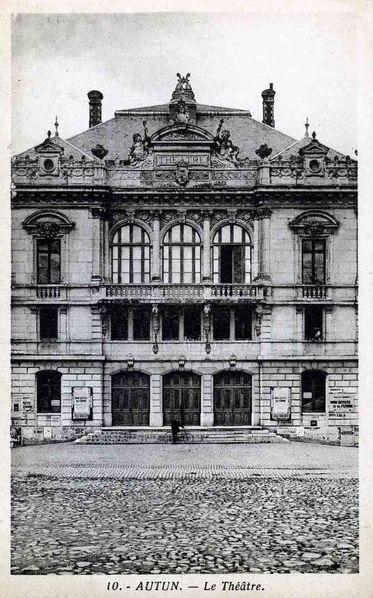 AUTUN 20f - Le Théâtre