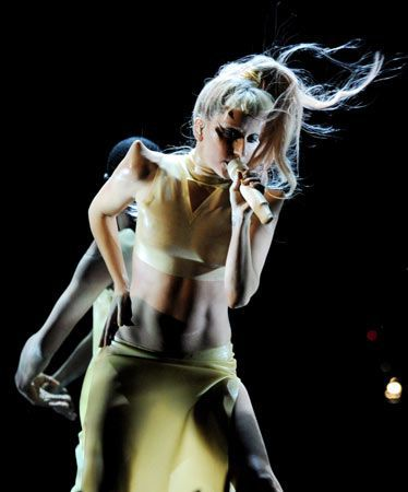 Lady Gaga's Madonna-influenced dance track breaks iTunes records